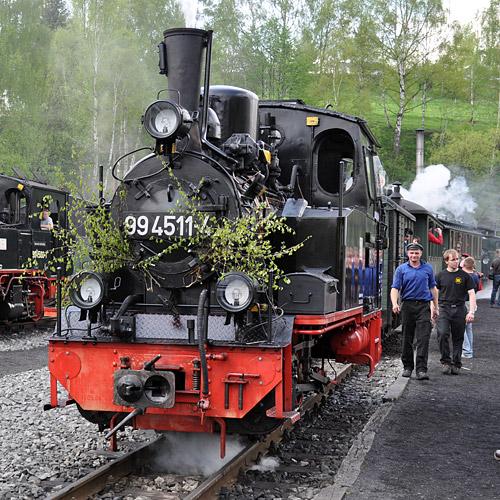 Preßnitztalbahn zu Pfingsten